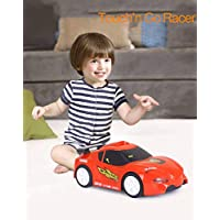 RIANZ All New Touch and Go Race Car with Touchable Function / Music / Lights Automatic Car Toy for Children 1 Pc (Racing Car)