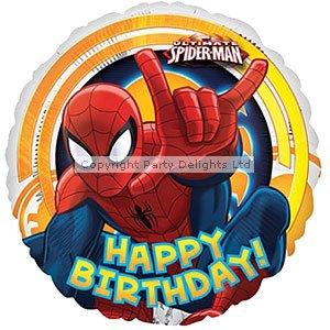 Globo del papel de Spiderman - 18