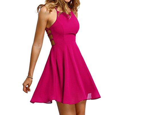 Fuschia Homecoming Dresses - 5