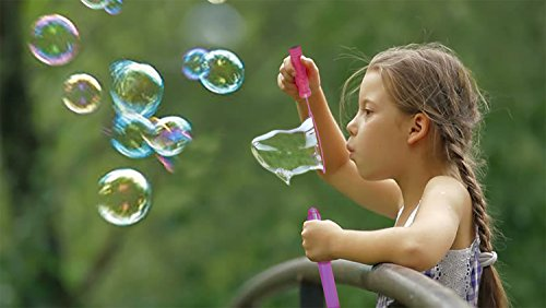 Big Bubble Wand Assortment (1 Dozen) - Super Value Pack of Summer Toy Party Favor