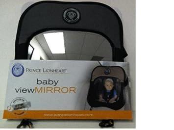 Noir//Gris Baby View Mirror Prince Lionheart Le R/étroviseur de B/éb/é