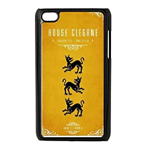 Game Of Thrones House Clegane iPod Touch 4 Case Black DIY Present pjz003_6514766