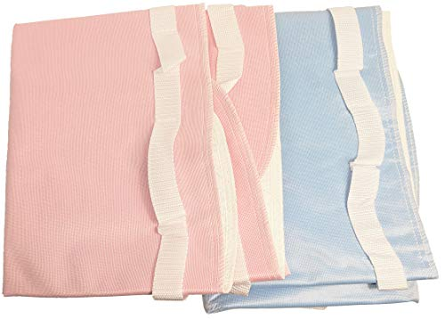 MABUA 2 Protective Bed PAD Sizes 36 x 34 and 52 x 34 Reusable Wetting Underpad Quilted Waterproof Washable Sheet Protector Children Adults Elderly Pet Incontinence 8 Cups Absorbency