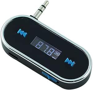 3.5mm Jack Universal car wireless MP3 FM radio transmitter HANDS FREE Mobile iPod Samsung HTC