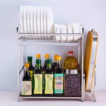 Kuchenregale Rostfreier Stahl Vorratsschalen Gewurzflaschen