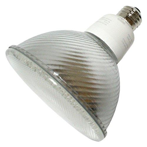 (Case of 12) TCP PF3823 CFL PAR38 - 90 Watt Equivalent (23W) Soft White (2700K) PAR Flood Light Bulb ()