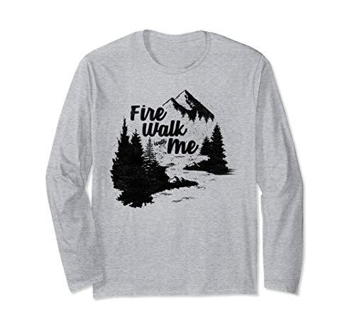 Twin Peaks Annual Fire Walk Long Sleeve (Twin Peaks Fire Walk With Me Ost)