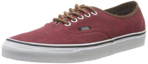 Vans Womens Authentieke Skate Schoen Rumba Rood