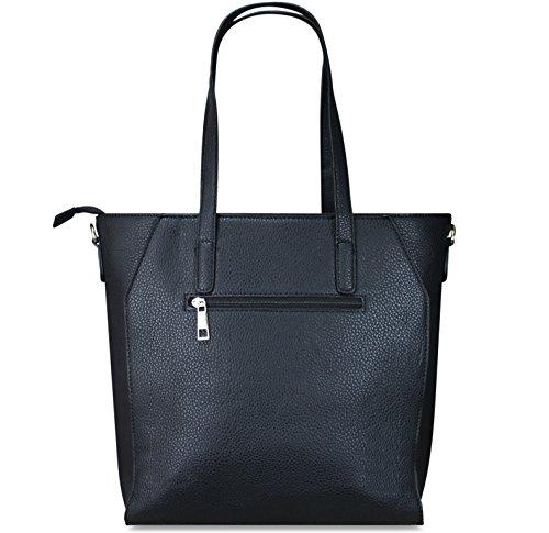 Women's Shoulder PiriModa Bag Black Shoulder One Size PiriModa UK Black Women's Bag Black qRdEE