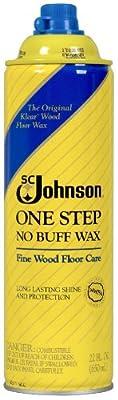 S C Johnson Wax 00125 Johnson Wood Wax, 22-Ounce