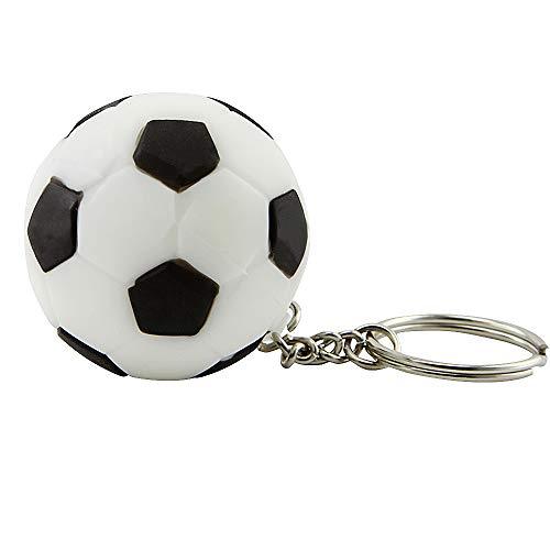 - High Speed USB 3.0 64GB Flash Drive Keychain Football Soccer Model Memory Stick Thumb Drive Sport Ball Pendrive Jump Drive U Disk Gift(64GB, Soccer)