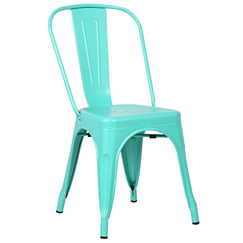 41Uv%2Biu0c5L - Poly and Bark Tolix Style Bistro A Dining Side Chair