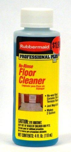 Rubbermaid Professional Plus No Rinse Floor Cleaner 4 Oz