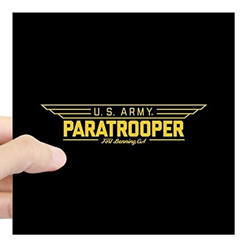 CafePress US Army Paratrooper Square Sticker 3