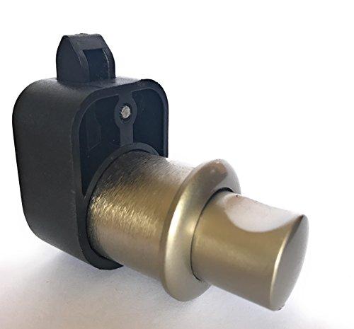 Push Button Latch Lock Cupboard Door Knob Alloy Handle Ni...