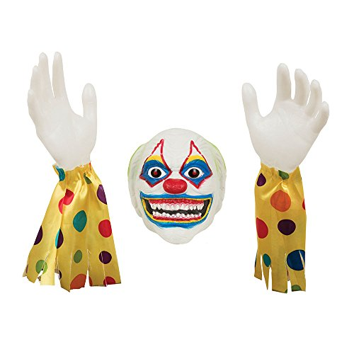 Evil Clown Props - Bristol Novelty HI351 Evil Clown Ground