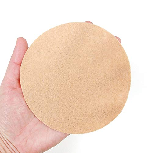 Nakpunar 100 pcs 1.5 Assorted Felt Circles