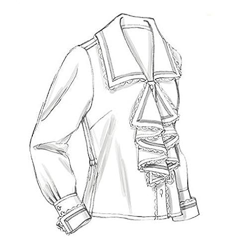 McCalls Cosplay Ladies Sewing Pattern 2029 Historical Sailor & Shawl ...
