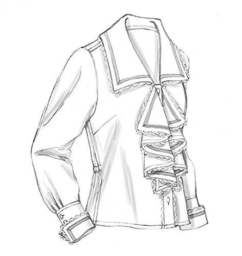 (McCalls Cosplay Ladies Sewing Pattern 2029 Historical Sailor & Shawl Collar)