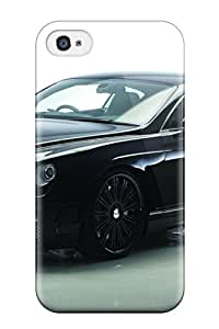 New Style For Iphone 4/4s Fashion Design 2008 Wald Bentley Continental Gt Black Bison Case