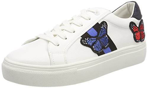 4896802 white Baskets Femme Tailor navy Tom Weiß axSwZnq