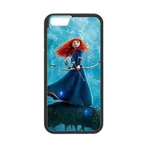 Brave Funda iPhone 6 4.7 Inch Funda Caja del teléfono celular Negro X4I8EX