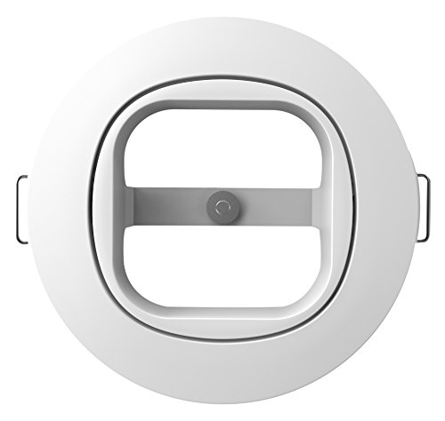 Price comparison product image Aeotec MultiSensor 6 Recessor. In-ceiling and in-wall recessed installation accessory.