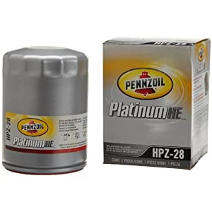 Pennzoil HPZ-28 Platinum Spin-on Oil Filter