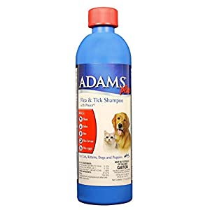Adams Plus Flea and Tick Shampoo for Dogs and Cats 23