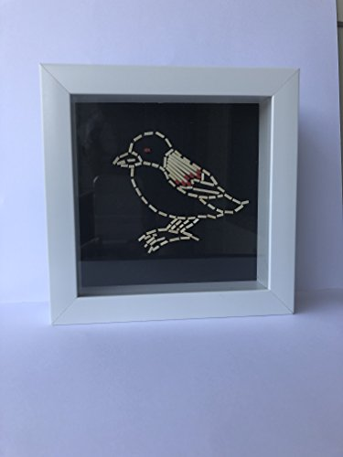 Handmade Framed Bird Art by ShukuDesigns