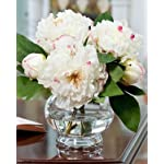 Peony-Silk-Flower-Centerpiece-White
