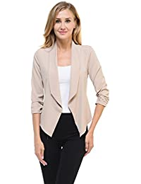 Amazon.com: Beige - Blazers / Suiting & Blazers: Clothing, Shoes ...