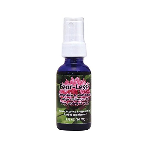 Flower Essence Services Flourish Formulas Fearless Spray, 1 Ounce