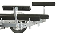 CE Smith Trailer, 27660, 2' Bunk Board Guide-On. Carpeted bunk boards provide proper center loading even in wind or side current conditions. For larger trailer frames check out our Large Frame U-Bolt Kit (11416). Pre-galvanized steel parts ar...