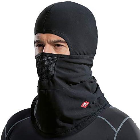 Santic Cycling Skull Cap Helmet Liner Bicycle Hat Thermal Fleece Windproof