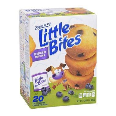 - Entenmann's Little Bites Blueberry (20 ct., 33 oz.)