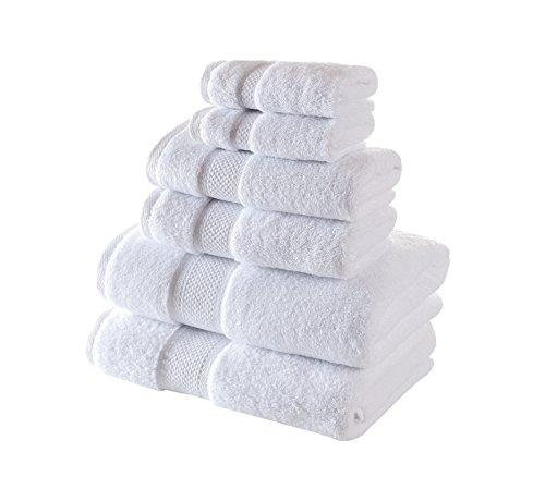 hooded towel set white - 5