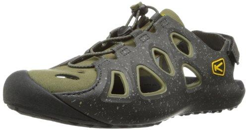 Keen Men's Class 6 Water Shoe,Raven/Burnt Olive,9 M US