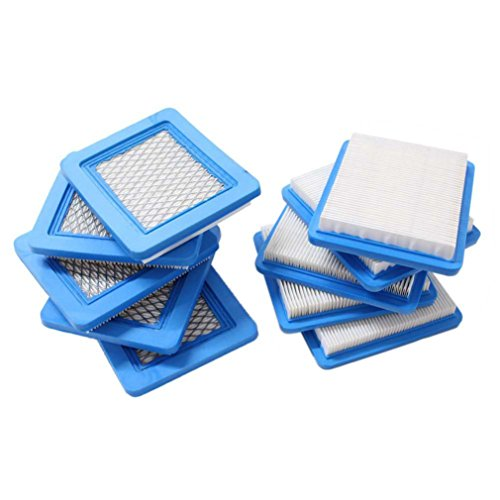 New Pack of 10 Air Filter Replacement fit for Briggs & Strat