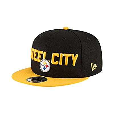 New Era Pittsburgh Steelers 2018 NFL Draft Spotlight Snapback 9Fifty Adjustable Hat by New Era