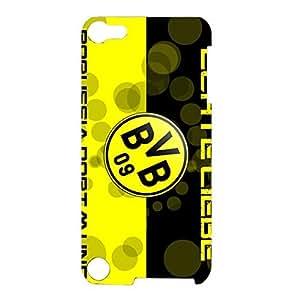 Borussia Dortmund Phone Case Slim Fashion Printed FC Logo 3D Hard Plastic BVB 09 Phone Case for Ipod Touch 5th Generation