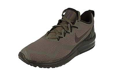 Nike Air Max Fury Womens Running Trainers AA5740 Sneakers Shoes (UK 4 US 6.5 EU 37.5, Port Wine Grey 600)