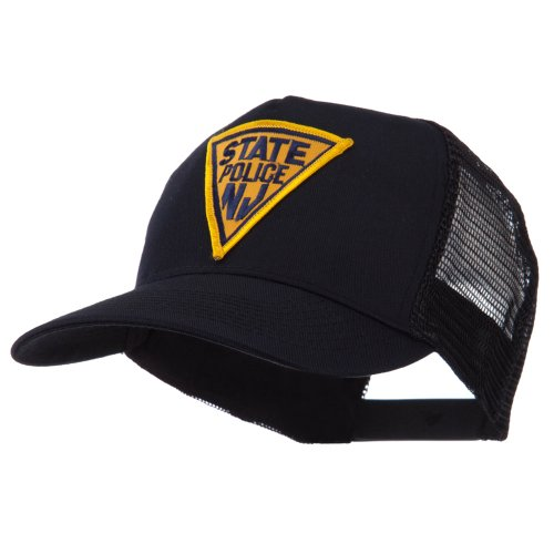 [USA Eastern State Police Embroidered Patch Cap - NJ State OSFM] (Cop Hat)