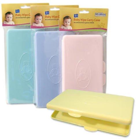 Baby Wipe Carry Case 4X8 Folding Case 96 pcs sku# 1265971MA by DDI