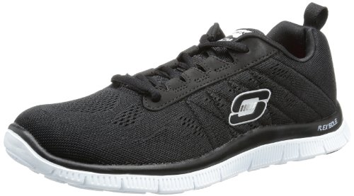Skechers Sport Donna Flex Appeal Nuova Scarpa Cross-training Rivale Nero / Bianco