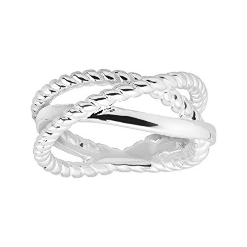 Silpada 'Wayfinder' Crisscross Ring in Sterling Silver ()