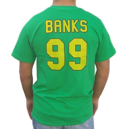 Adam Banks #99 Mighty Ducks Movie Jersey T-Shirt