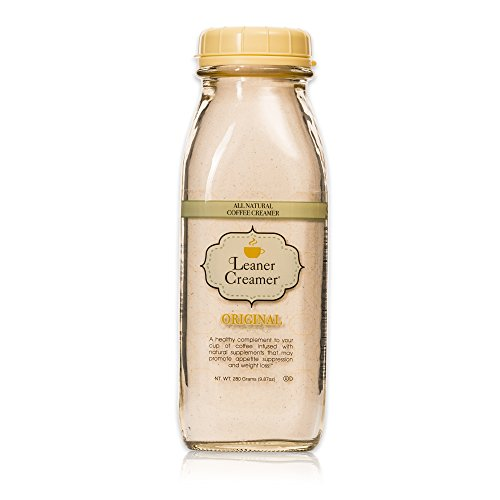 Leaner Creamer: Natural Coconut Oil Based Coffee Creamer - Original (280 (Coffee Creamer Ingredients)