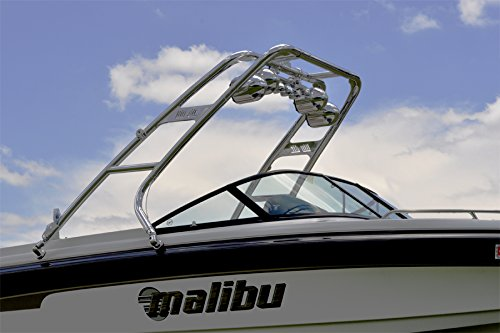 Big Air Cuda Wakeboard Tower with LED Navigation Light and Rope