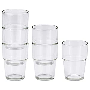 Reko / REKO glass / 6 piece [IKEA] IKEA (20137851) (japan import)